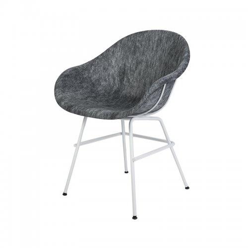 (预售)TUBO现代椅 灰白拼色