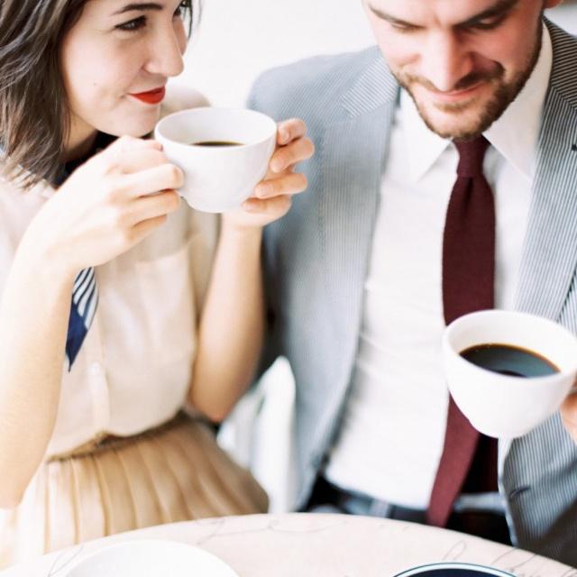 咖啡香里的浪漫时光